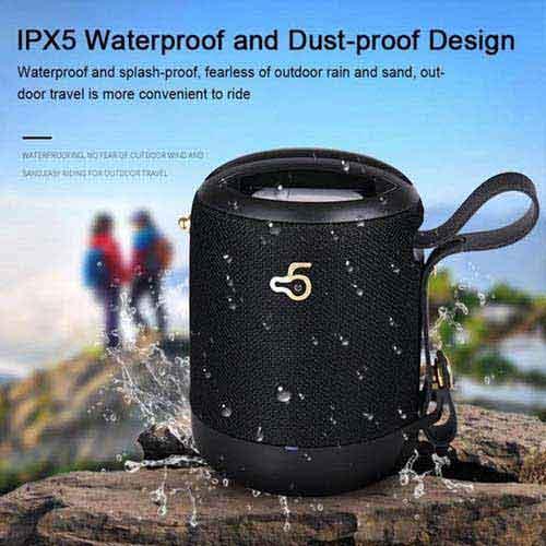Loa Bluetooth chống nước Waterproof - Loa bass cực đã!