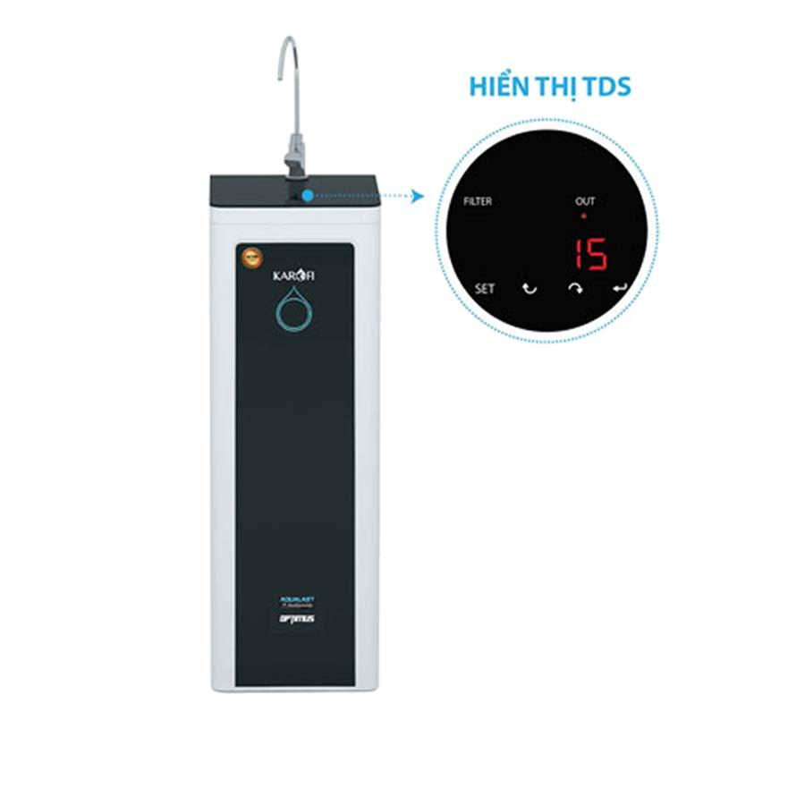 Máy lọc nước Karofi O-I229 9 cấp lọc - Màn hình hiện thị điện tử