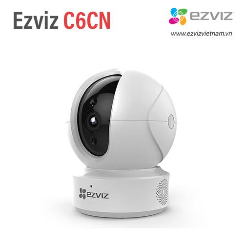 Camera Wifi Hải Phòng Ezviz C6CN 720P, có Cổng LAN, xoay 360 độ