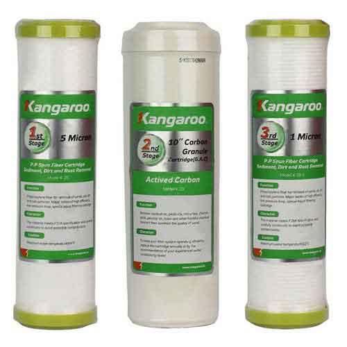 Lõi lọc nước Kangaroo số 1, 2, 3 - Lõi lọc chính hãng, hướng dẫn lắp đặt