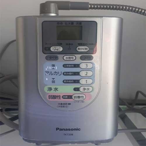 Máy ion kiềm Hải Phòng - Panasonic nội địa TK7208, hàng mới trên 90%