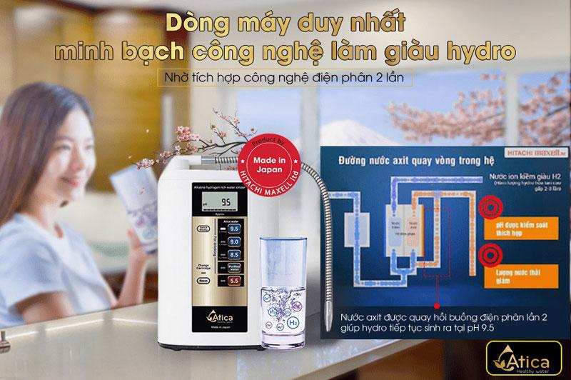 Máy lọc nước ion kiềm Atica Eco