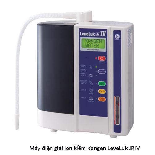 Máy điện giải ion kiềm Kangen LeveLuk JRIV - Nguyên chiếc từ Nhật Bản