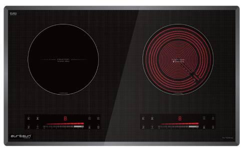 Bếp Điện Từ Eurosun EU-TE226 MAX - 2 vùng nấu cảm ứng từ
